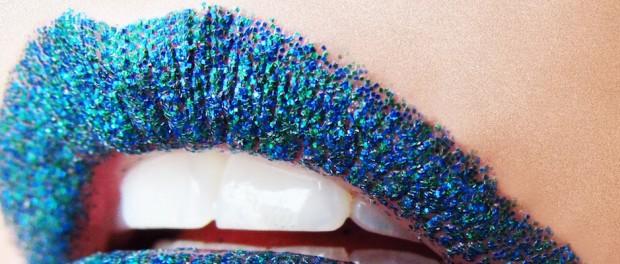 Glitter Lippen