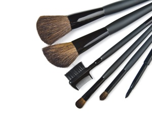 Basics beim Make-up: ein Pinselset