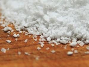 Salz Peeling : Pflegekosmetik selbstgemacht