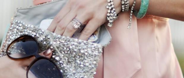 Accessoires in gold und silber - sexy und elegant!