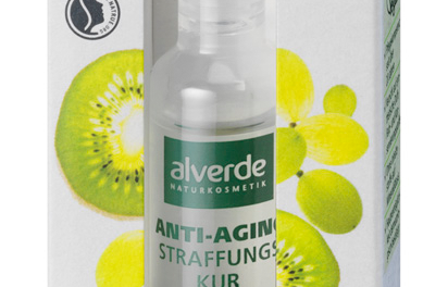 Anti Aging Straffungs Kur Kiwi (Bild: dm/alverde)