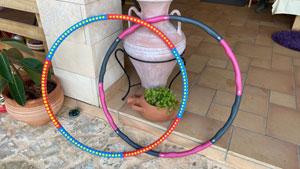 Hula-Hoop-Reifen-Auswahl